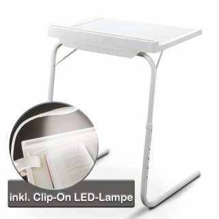 STARLYF Table Express mit Clip LED Lampe