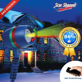 Star Shower Motion Laserlicht System inkl. Fernbedienung