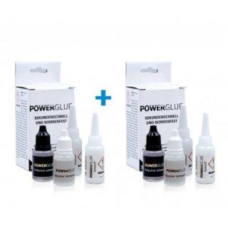 Power Glue Sekundenkleber, Industriekleber, Flüssige Schweißnaht mit Haftpulver