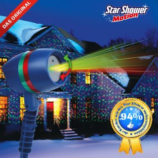 Star Shower Motion Laserlicht System