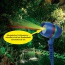 B-Ware Star Shower Motion Laserlicht System inkl. Fernbedienung