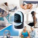 Zaahn Ultra Chill Deluxe, Air Cooler, Luftkühler mit Verdunstungskühlung – Mobiles Klimagerät