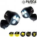 Panta Safe Light 2 Stück Sicherheitslicht Aussen-Wandleuchte LED - Mediashop