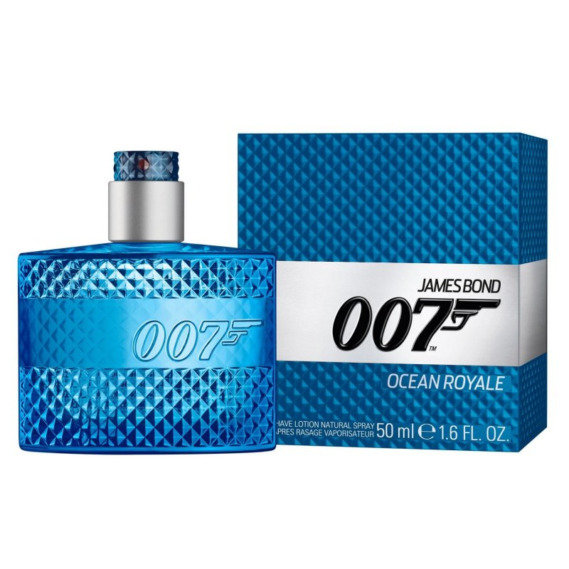 James Bond 007 Ocean Royale After Shave Lotion Natural Spray 50 ml