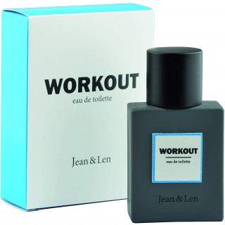 Jean & Len Herrenduft Workout, Eau de Toilette, maskuliner Duft, holzig - Frisch