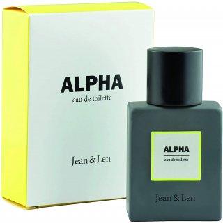 Jean & Len Herrenduft Alpha, Eau de Toilette, Parfüm für Männer, fruchtig - aromatischer Duft
