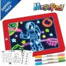 2x Magic Pad – Zaubertafel mit 6 Neonfarben und 8...