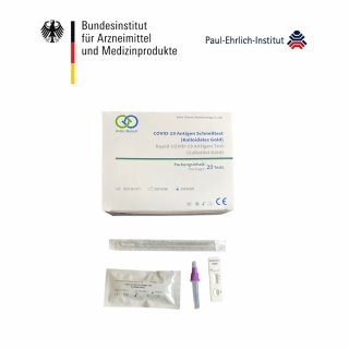 Anbio Biotech Antigen-Schnelltest - 20er Pack Testkit