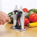2x Bavarian Edge Messerschleifer Messer schärfen Messerschärfer Messerschleifgerät scharfe Messer Schärfen Abziehen