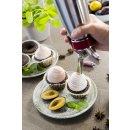 iSi Sahnespender 500ml, Gourmet Whip Plus, 0.5 Liter, aus hochwertigem Edelstahl, Betrieb mit iSi Sahnekapseln, für Sahne, warme und kalte Saucen, Suppen, Espumas und Desserts