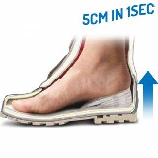 Einlegesohlen 5cm in 1 sec größer Silikon Einlagen Schuhe Sportschuhe