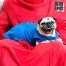 SNUG SNUG Decke ONE DOGGY Decke mit Ärmeln für Hunde Hundemantel Hundejacke