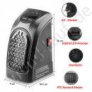 Heater Power Mini Heizung Handy Format Heizlüfter Miniofen Heizung Elektro