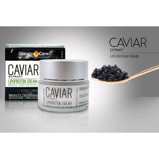 Kaviar Gesichtscreme Kaviarcreme mit Hyaluronsäure Biotin Retinol und Aloe Vera