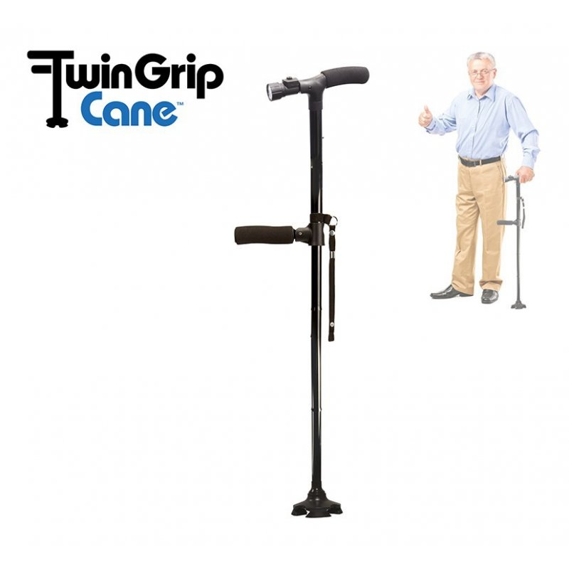 Twin Grip Cane Gehstock Gehhilfe