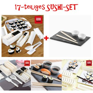 17- teiliges Sushi-Set
