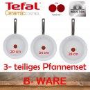 TEFAL Ceramic Control Induktion 3 tlg. Pfannenset 20cm/24cm/28cm - B-WARE