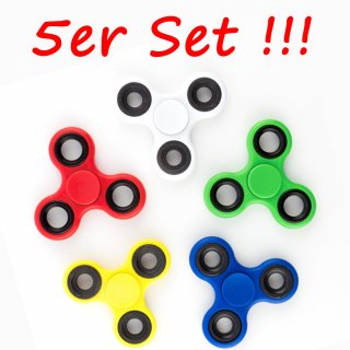 Fidget Spinner im Set Hand Finger Spinner 2-3 Min. Spin TOP QUALITÄT