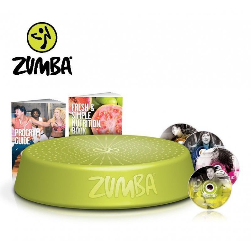 Zumba Fitness Incredible Results DVD-Set + Zumba Step Rizer