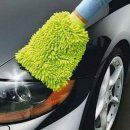2x Microfaser Autowasch- Handschuh