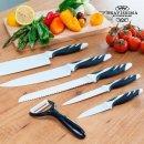 6- teiliges Messerset CecoTec TOP CHEF in 2 Farben erhältlich