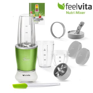 Genius Feelvita Nutri Mixer | 11 Teile | Smoothie-Maker |...