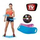 Simply Fit Board Fitnessgerät inkl. DVD Balance Board Workout Twist das Original von Mediashop
